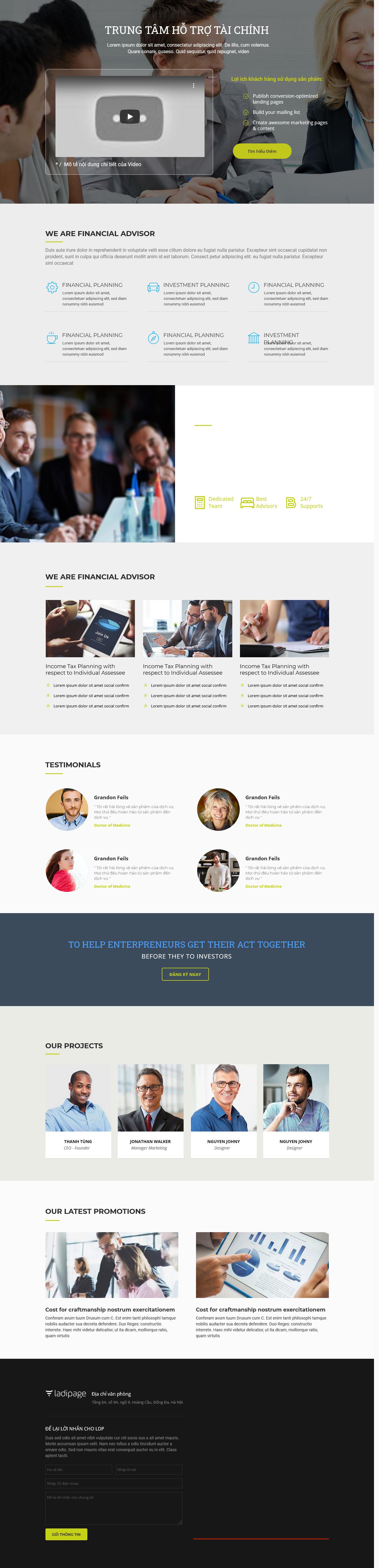 Thiết kế website Thiết kế webiste landingpage bao-hiem---luat---tai-chinh Tài chính Bảo Hiểm 02