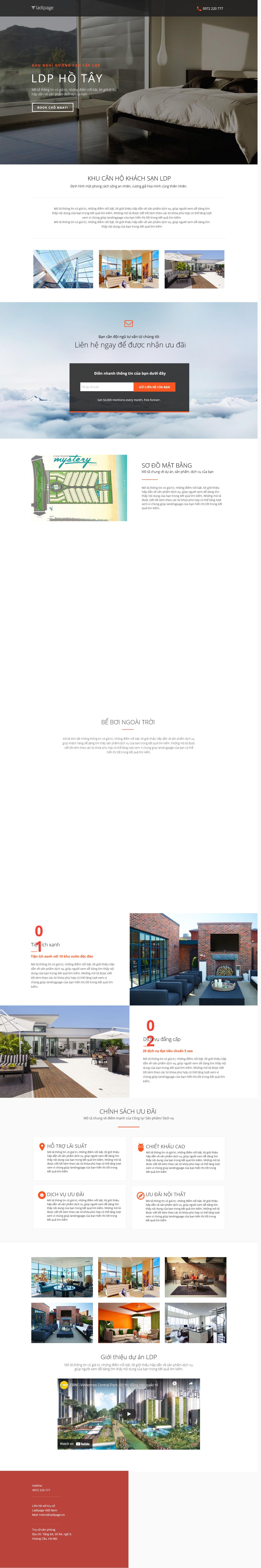 Thiết kế website Thiết kế webiste landingpage bat-dong-san Bất Động Sản 09