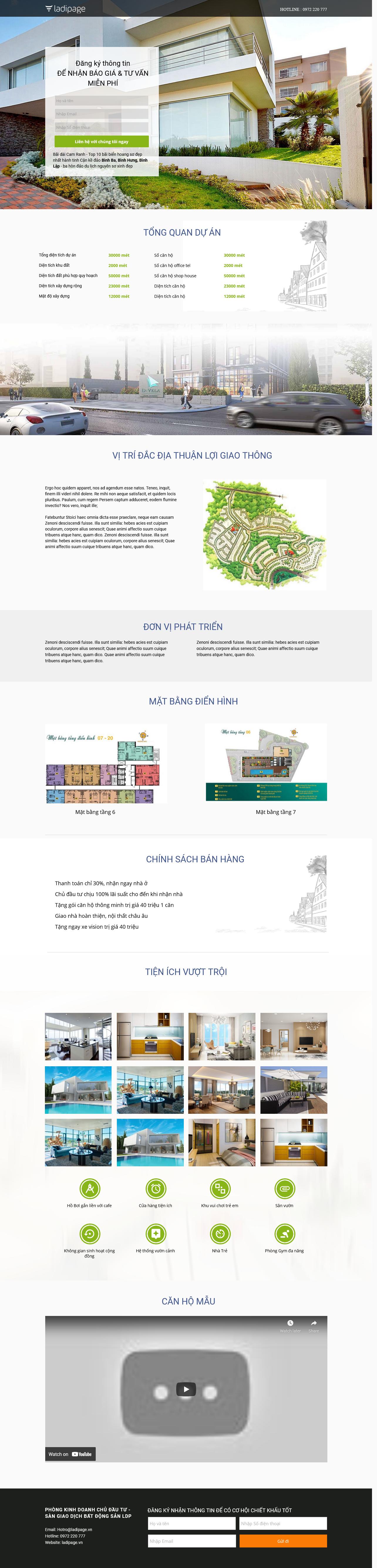 Thiết kế website Thiết kế webiste landingpage bat-dong-san Bất động sản 17