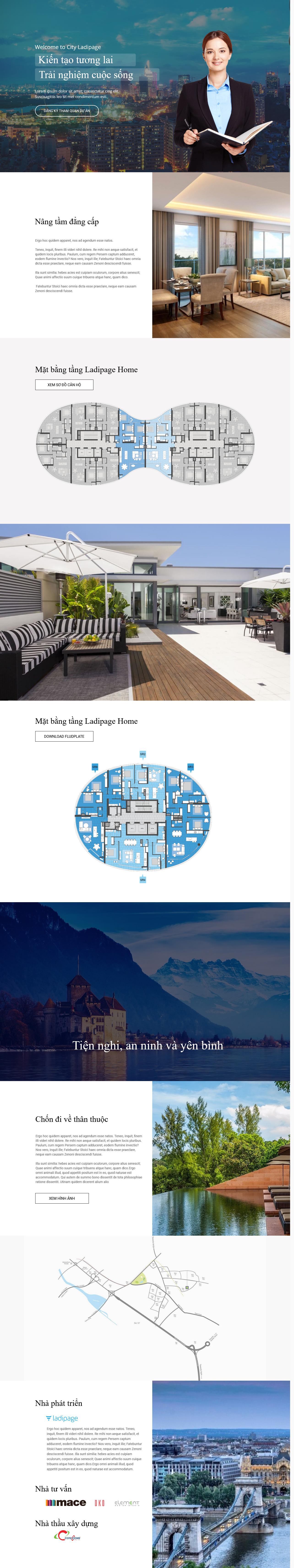 Thiết kế website Thiết kế webiste landingpage bat-dong-san Bất động sản 20