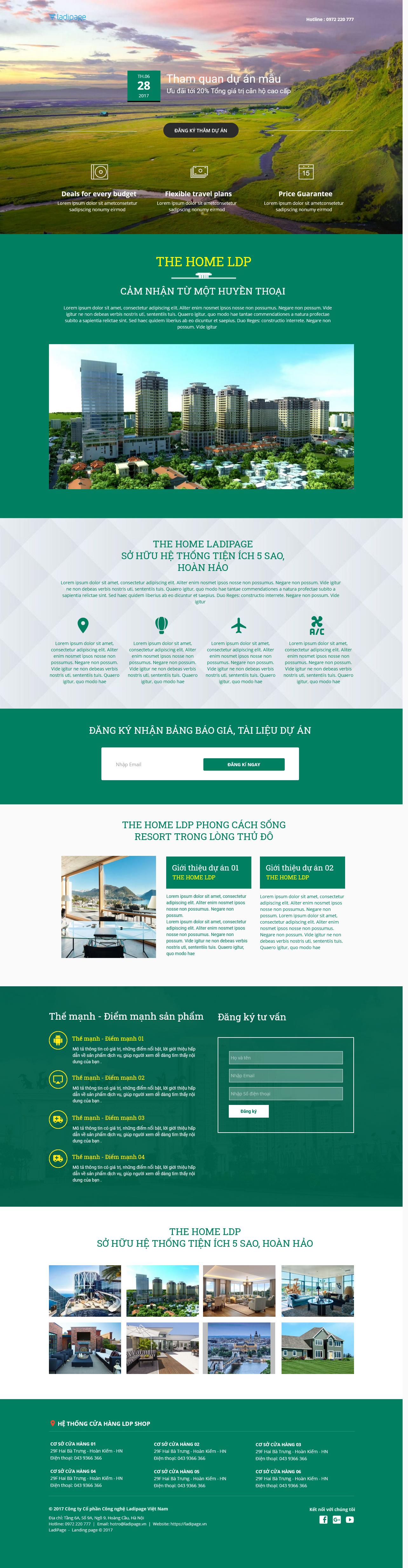 Thiết kế website Thiết kế webiste landingpage bat-dong-san Bất động sản 23