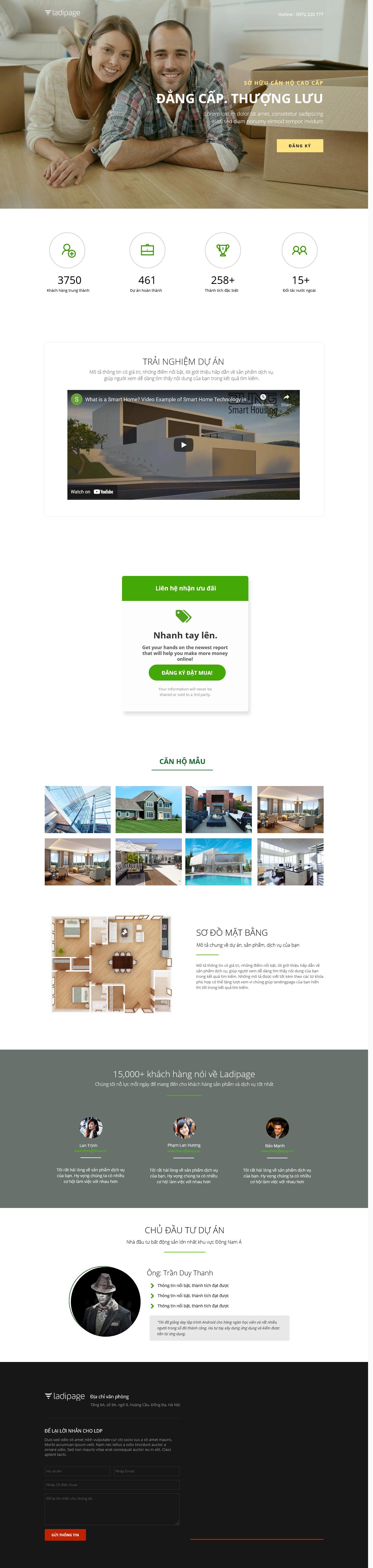 Thiết kế website Thiết kế webiste landingpage bat-dong-san BĐS 11