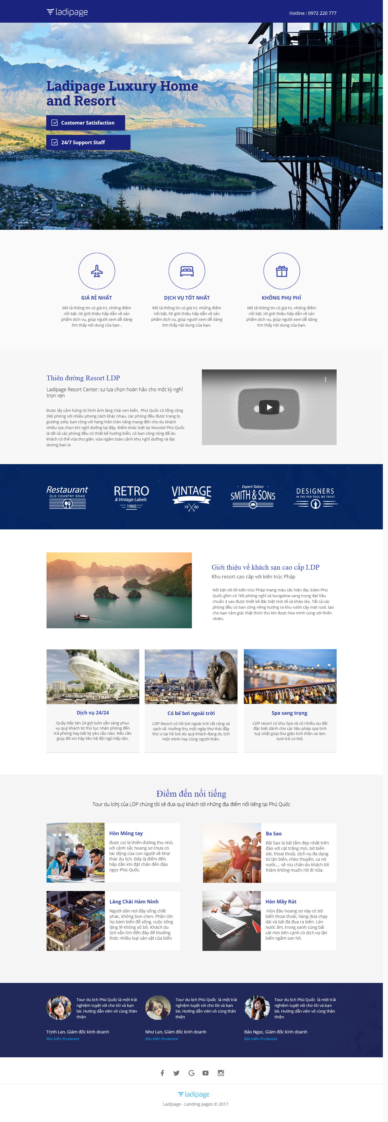 Thiết kế website Thiết kế webiste landingpage du-lich---khach-san---nghi-duong Du lịch 05