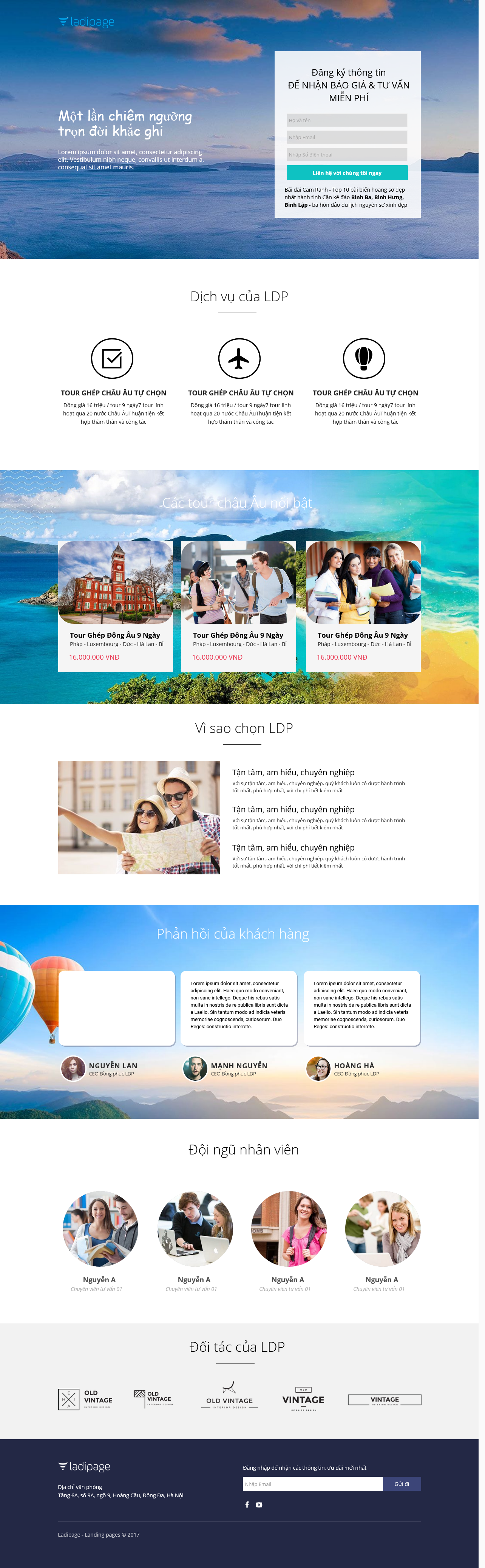 Thiết kế website Thiết kế webiste landingpage du-lich---khach-san---nghi-duong Du lịch 11