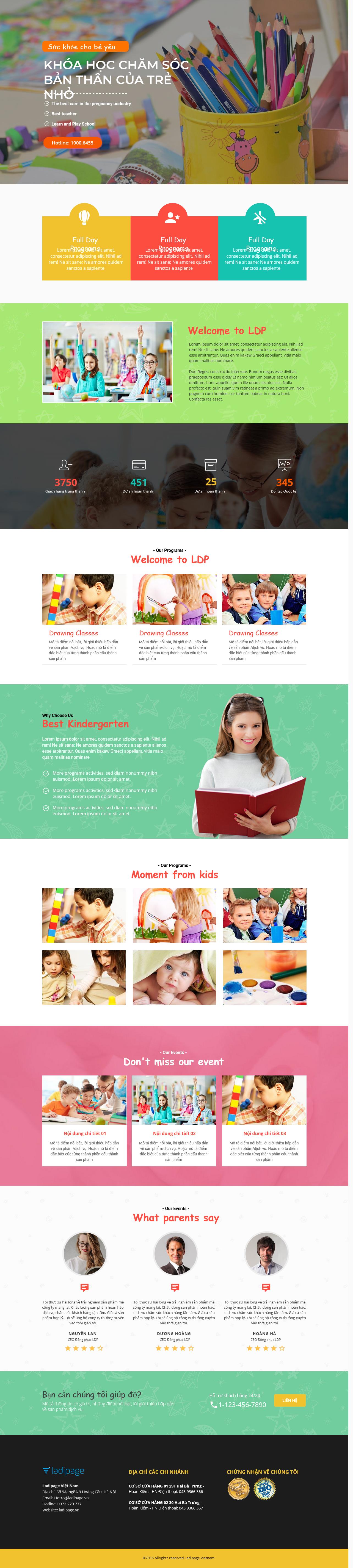 Thiết kế website Thiết kế webiste landingpage me---be Mẹ & Bé 07