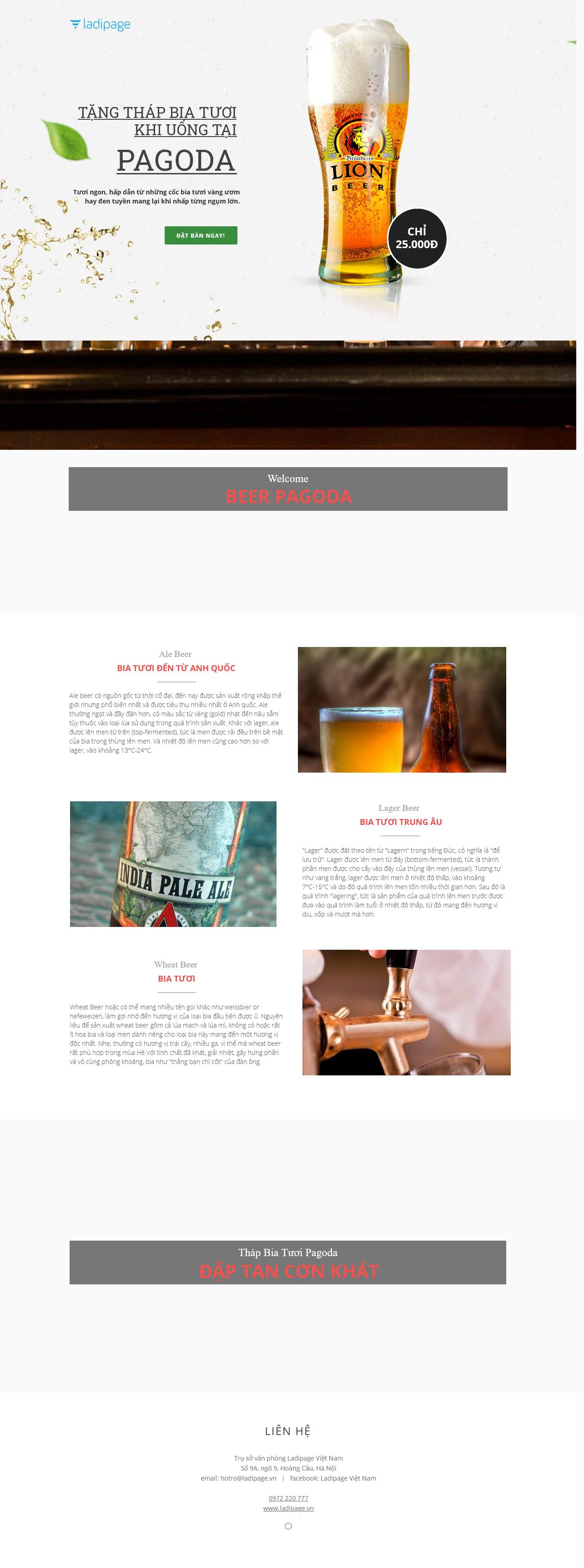 Thiết kế website Thiết kế webiste landingpage nha-hang---quan-an Nhà hàng- Quán ăn 04