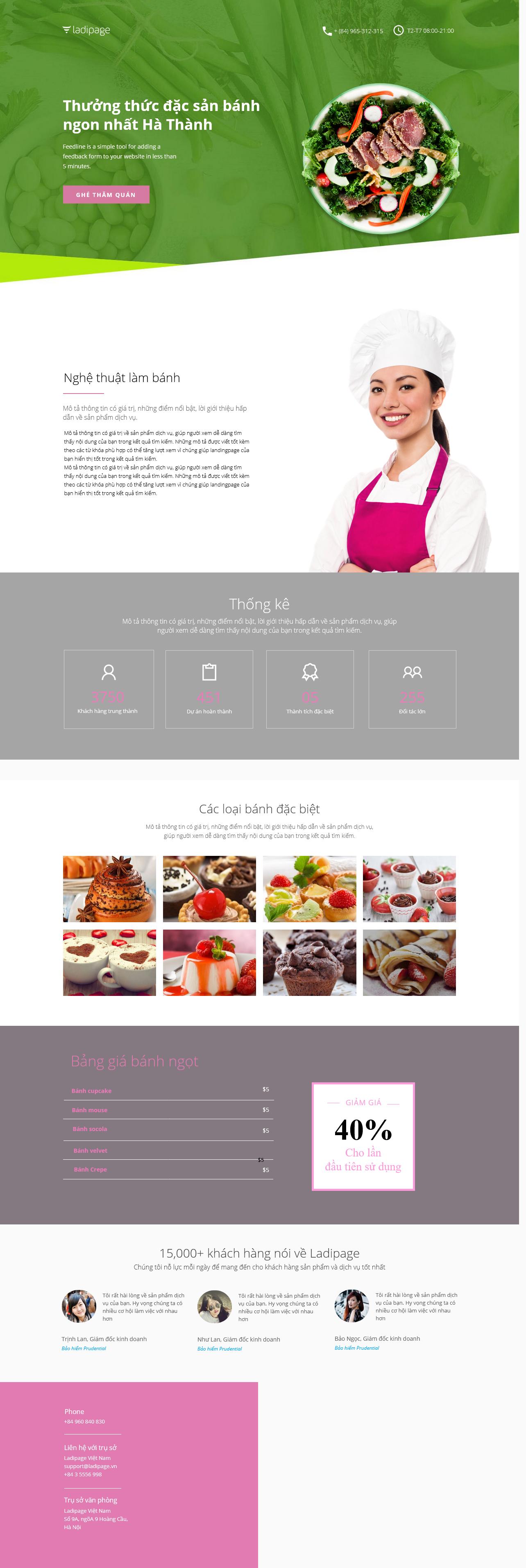 Thiết kế website Thiết kế webiste landingpage nha-hang---quan-an Nhà hàng- Quán ăn 09