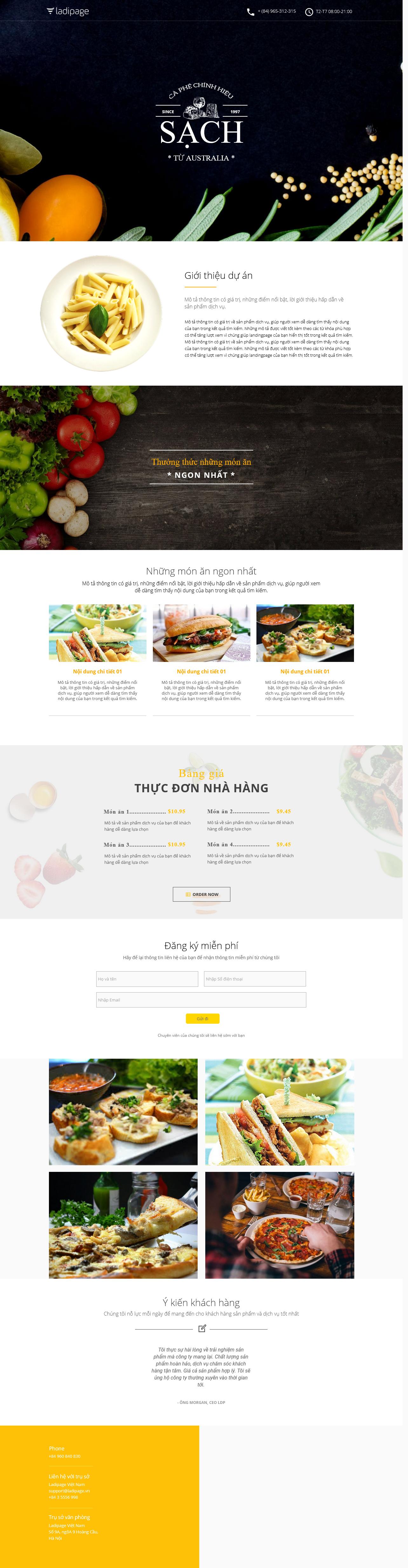 Thiết kế website Thiết kế webiste landingpage nha-hang---quan-an Nhà hàng quán ăn 06