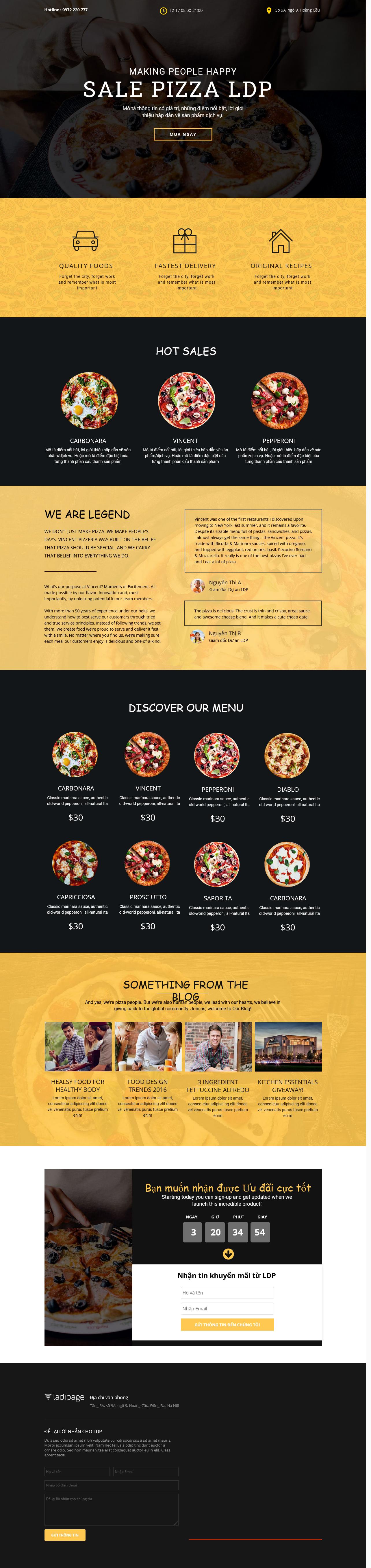Thiết kế website Thiết kế webiste landingpage nha-hang---quan-an Nhà hàng quán ăn 10