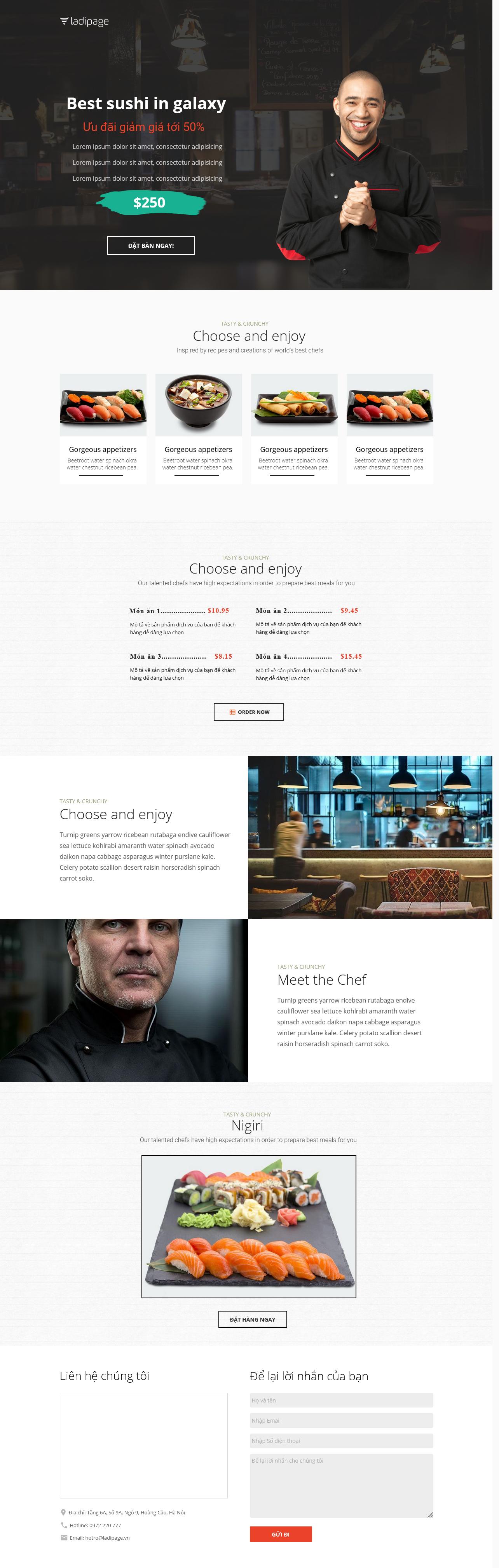 Thiết kế website Thiết kế webiste landingpage nha-hang---quan-an Nhà hàng quán ăn 17