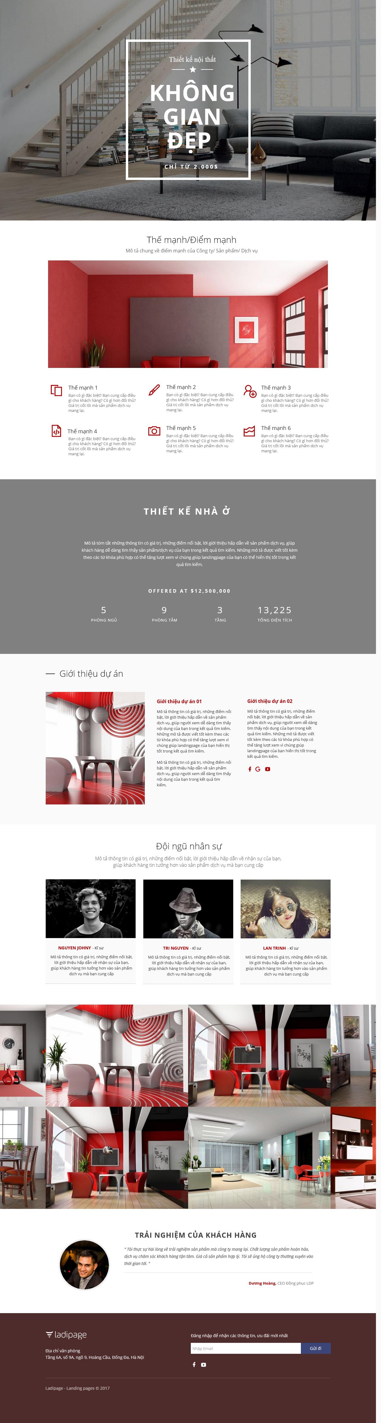 Thiết kế website Thiết kế webiste landingpage noi-that---ngoai-that Nội thất 08