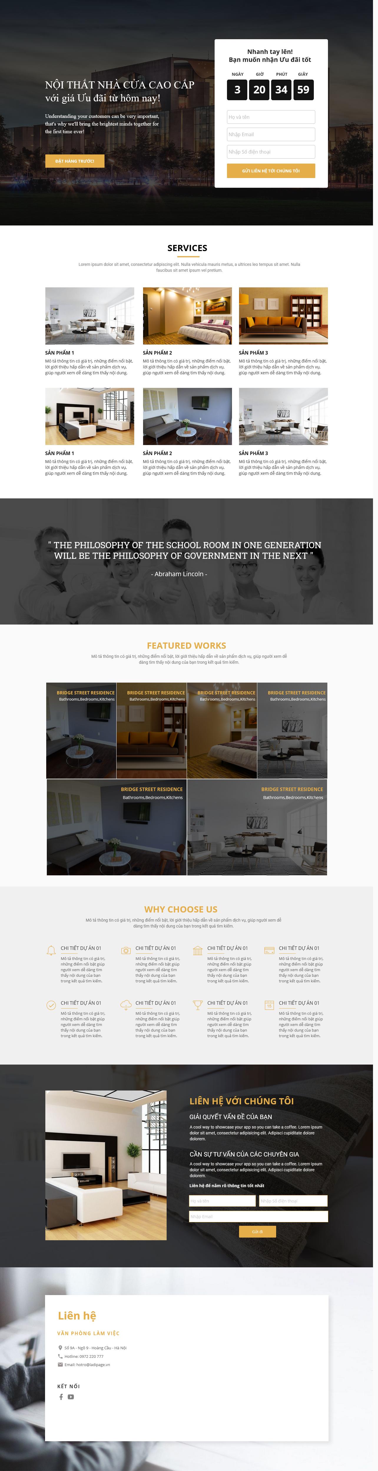 Thiết kế website Thiết kế webiste landingpage noi-that---ngoai-that Nội thất 13