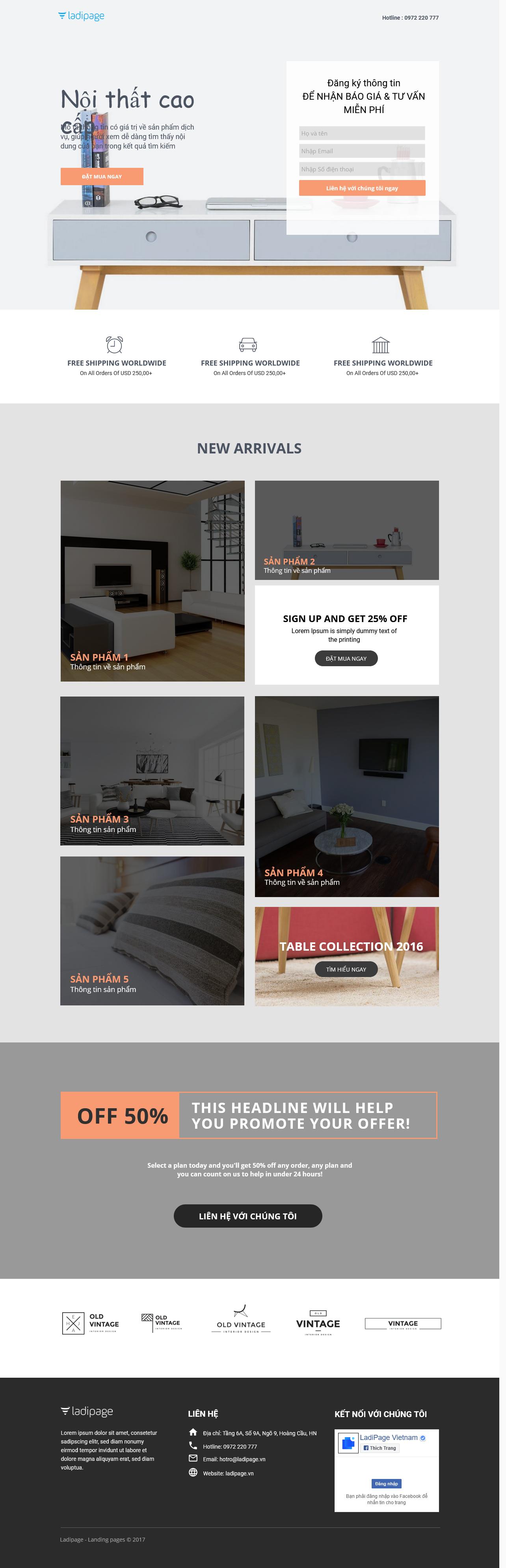 Thiết kế website Thiết kế webiste landingpage noi-that---ngoai-that Nội thất 15