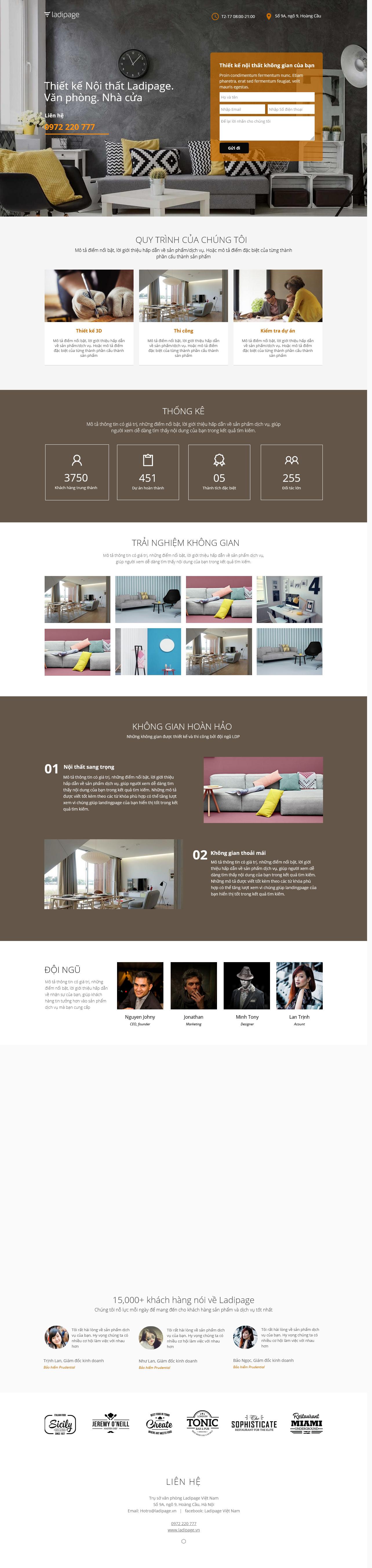 Thiết kế website Thiết kế webiste landingpage noi-that---ngoai-that Thiết kế nội thất 03