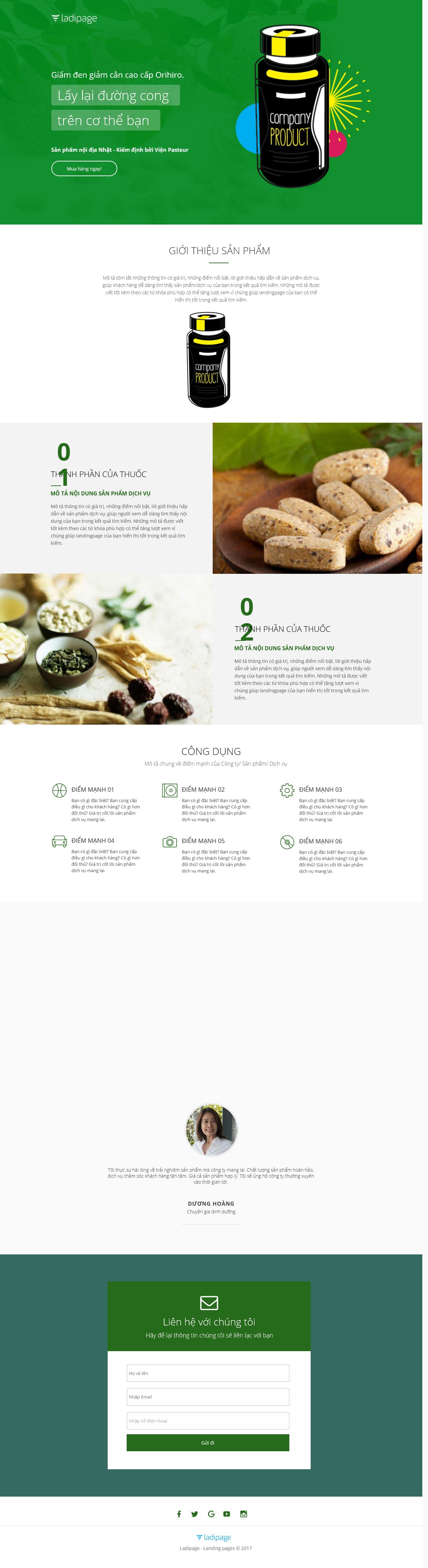 Thiết kế website Thiết kế webiste landingpage tham-my---spa---lam-dep Làm đẹp 13