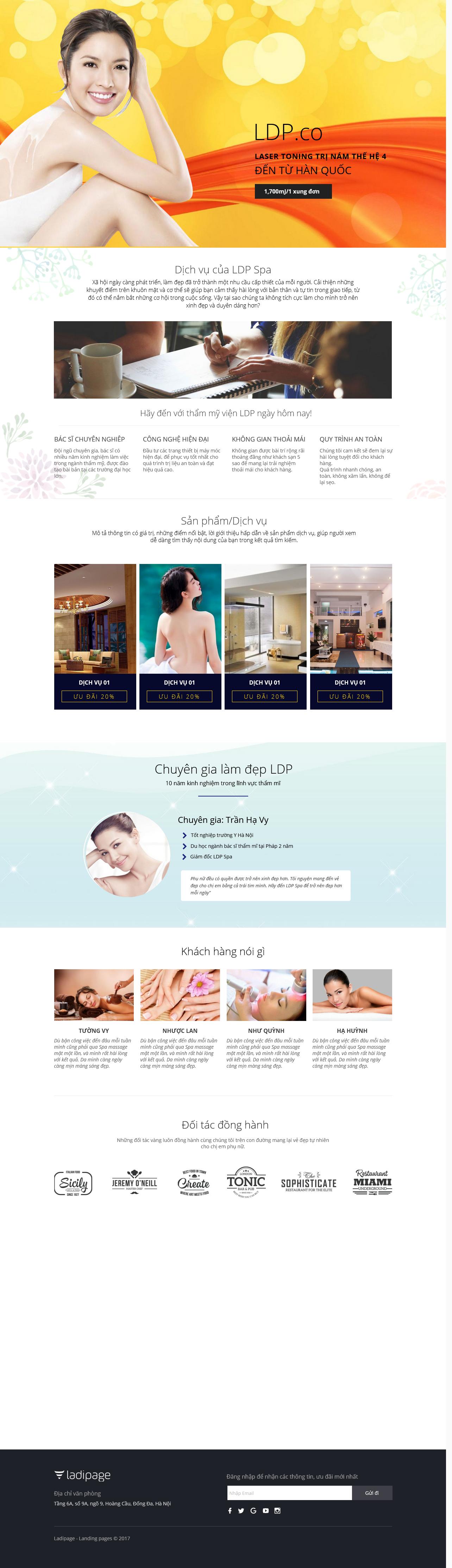 Thiết kế website Thiết kế webiste landingpage tham-my---spa---lam-dep Sức khỏe Làm đẹp 04