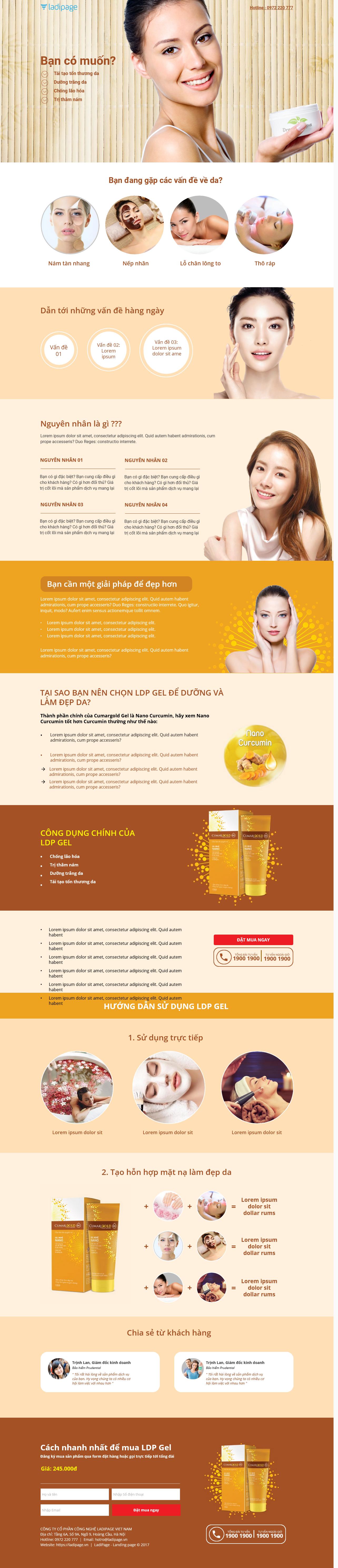 Thiết kế website Thiết kế webiste landingpage tham-my---spa---lam-dep Sức Khỏe Làm đẹp 17