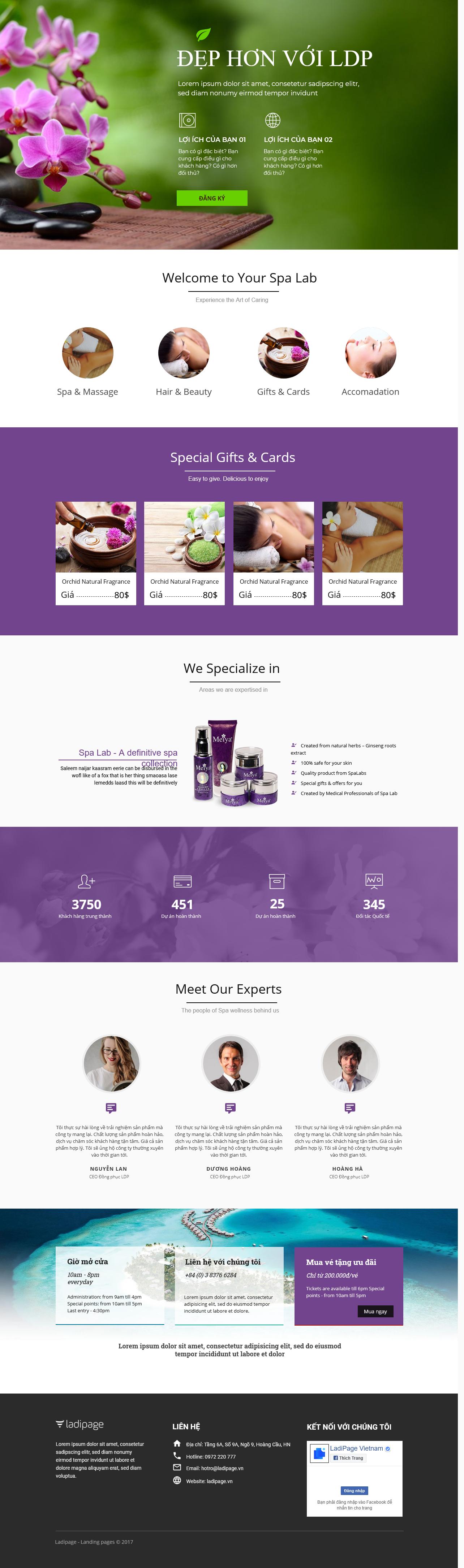 Thiết kế website Thiết kế webiste landingpage tham-my---spa---lam-dep Sức khỏe làm đẹp 25