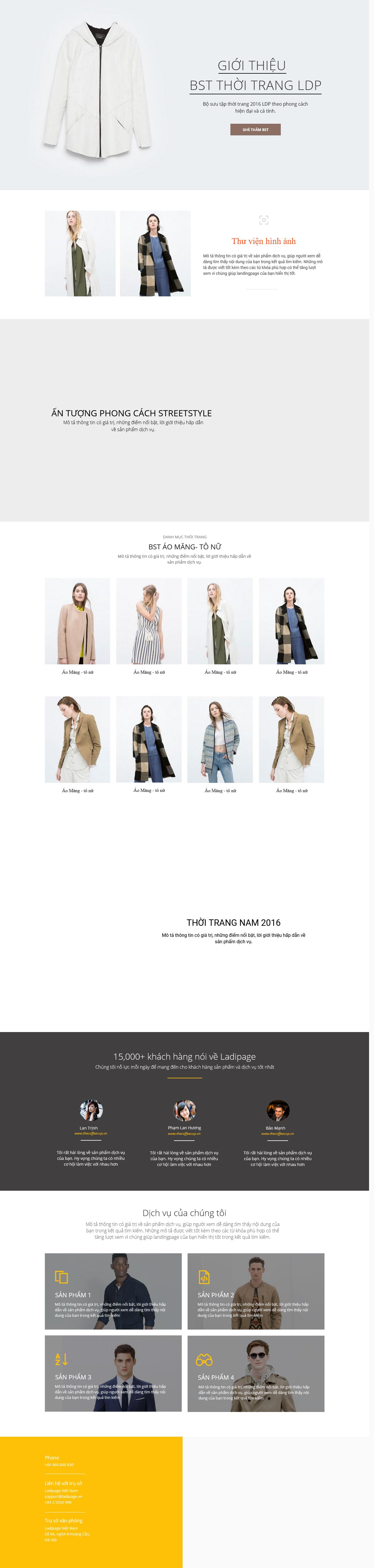 Thiết kế website Thiết kế webiste landingpage thoi-trang---phu-kien Thời trang 02